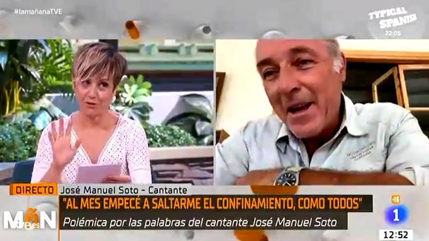 Sara Escudero y José Manuel Soto en TVE