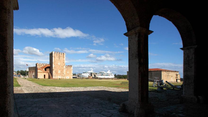 Torre del Homenaje de la Fortaleza de Ozama, en Santo Domingo. TURISMO REP. DOM.