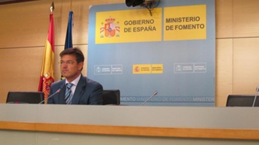 Rafael Catalá, secretario de Estado de Infraestructuras