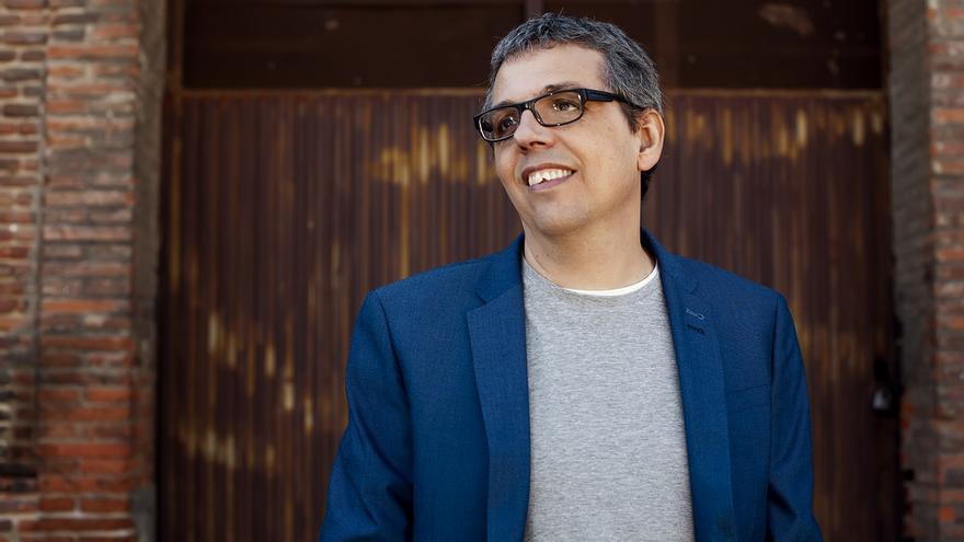 El cantautor tinerfeño Pedro Guerra