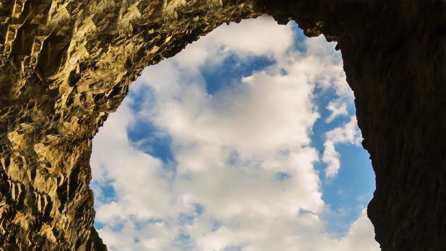Proís de Candelaria, punto de salida de la 'I Vertical Proís de Tijarafe'. Foto: Ayuntamiento de Tijarafe.