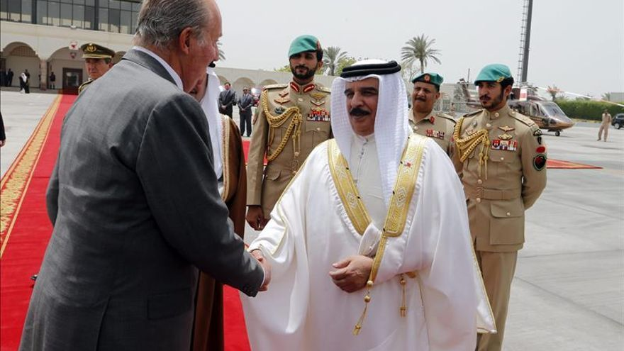 El Rey Juan Carlos está de viaje oficial en Kuwait y Bahrein./ Efe