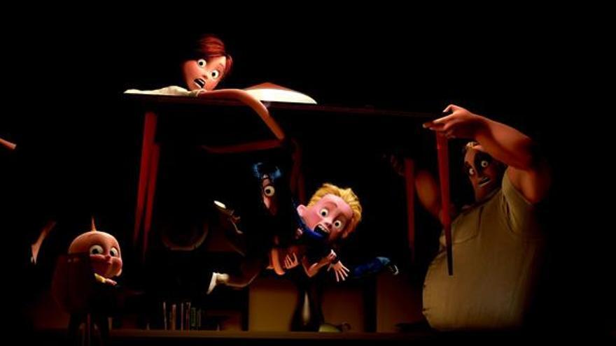 """""""Los Increíbles 2"""" busca un nuevo récord en la taquilla estadounidense"""
