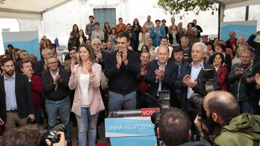 Leiceaga (PSOE) dice que Feijóo le recuerda a Trump