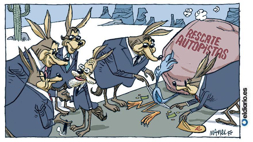 El coyote gana