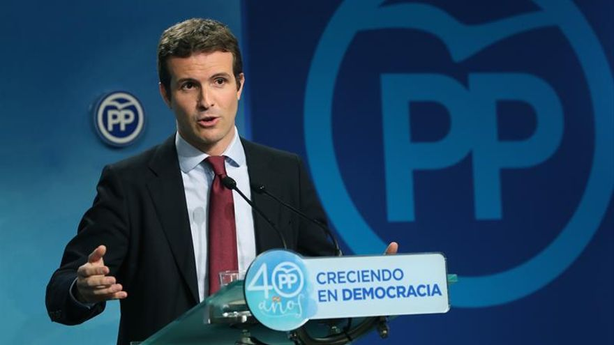 Casado (PP): El Govern era plenamente consciente de las consecuencias penales