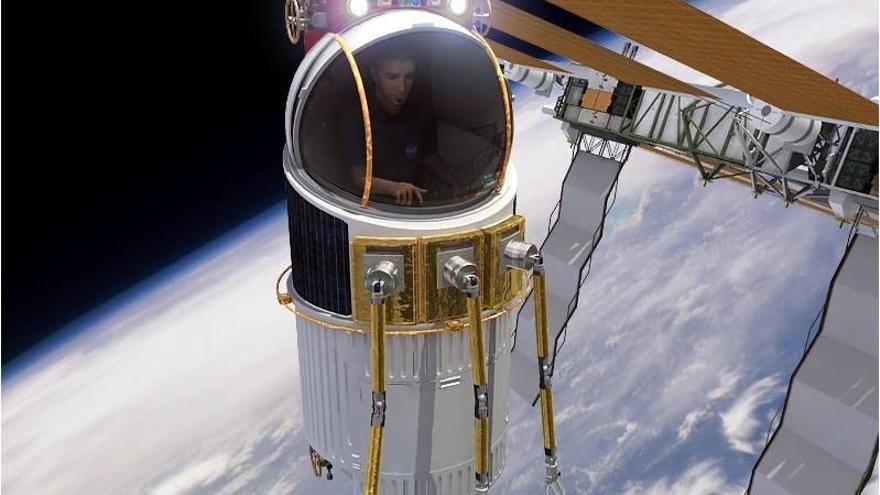 El Single Person Spacecraft es un proyecto de la empresa Genesis Engineering Solutions