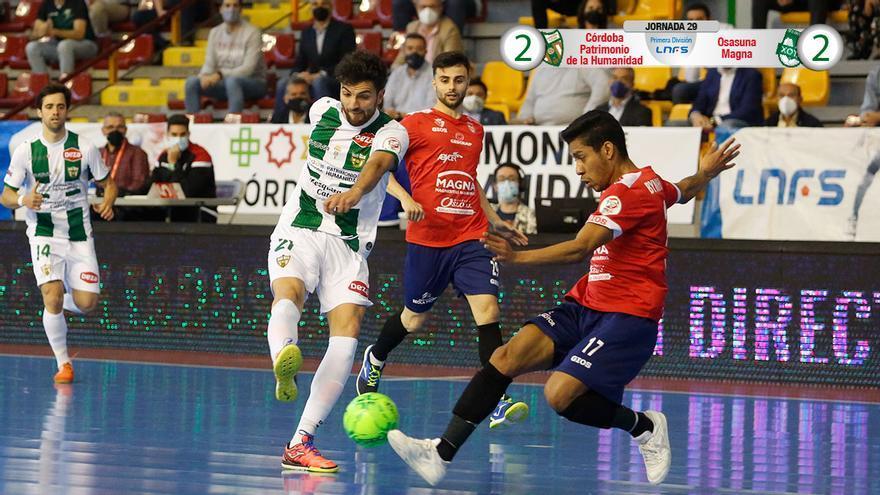 Empate entre Córdoba Futsal y Osasuna Magna
