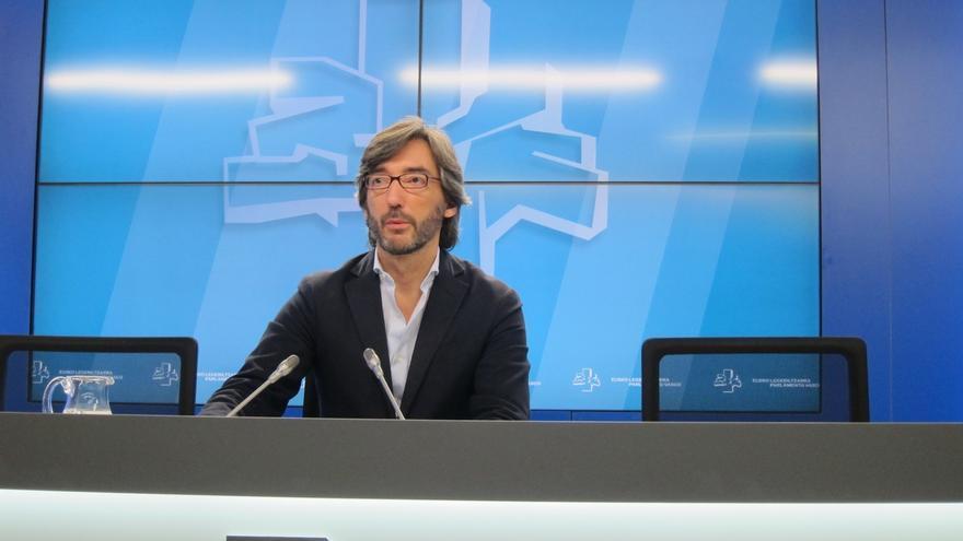 """Oyarzábal (PP) rechaza """"de plano"""" la propuesta de C's de eliminar el Concierto"""