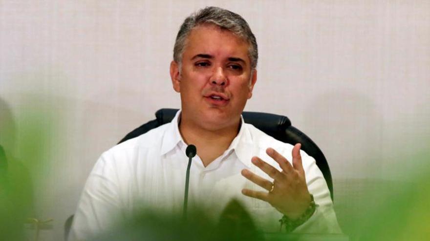 Duque le reitera a los exguerrilleros de las FARC su compromiso con la paz