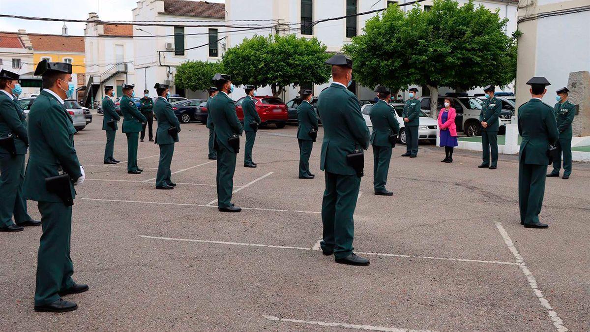 Nuevos agentes de la Guardia Civil en Córdoba.