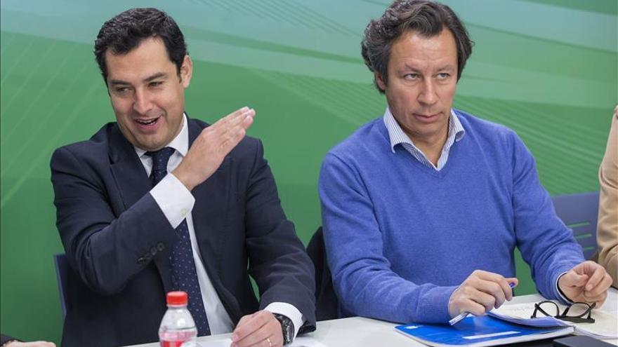 """El PP se ve """"engrasado"""" para las elecciones andaluzas y unido en torno a Moreno"""
