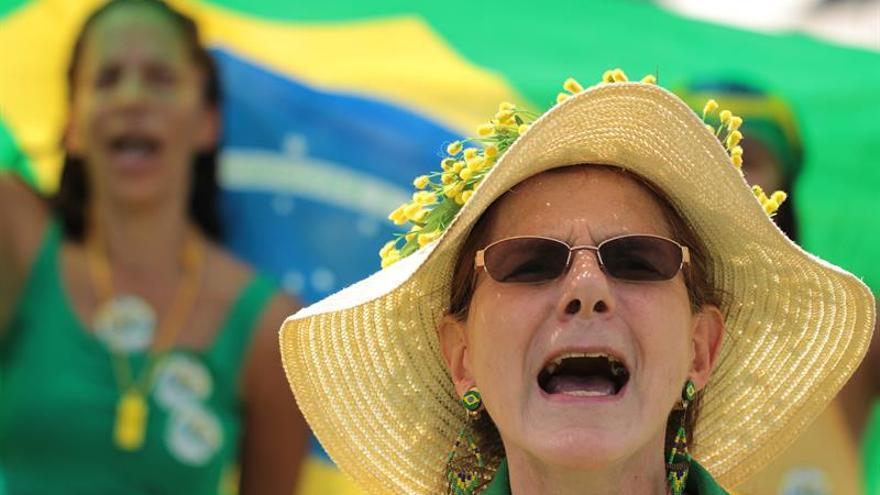 Escaso seguimiento en manifestaciones convocadas contra la corrupción en Brasil