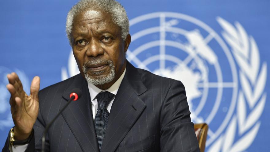 Annan avisa del peligro de que el conflicto sirio se extienda por la región