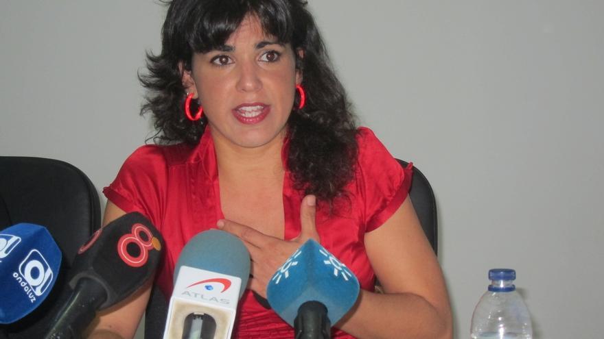 Los militantes de Izquierda Anticapitalista, entre ellos la eurodiputada Rodríguez, no optarán a la dirección de Podemos