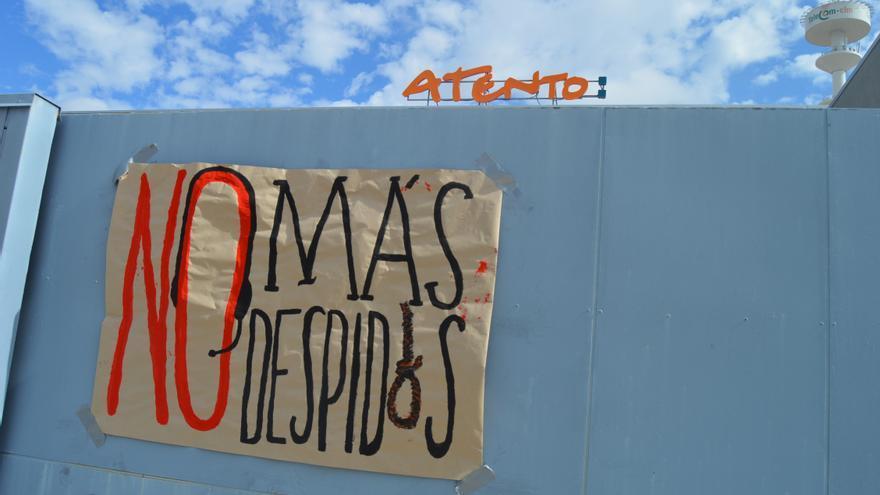 Paros en Atento Toledo / Foto: Javier Robla