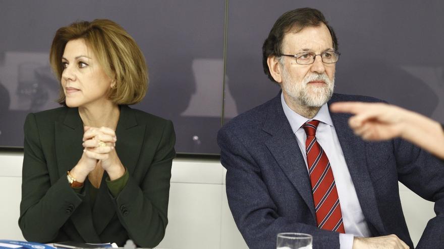 """Rajoy agradece la labor de interventores y apoderados del PP para que las elecciones se celebren con """"normalidad"""""""