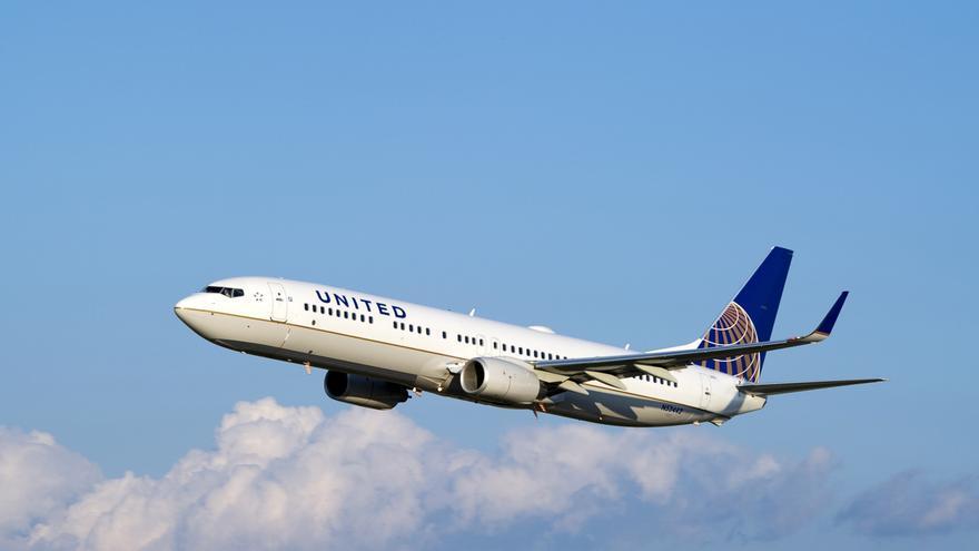United Airlines redujo un 0,2% sus pasajeros hasta agosto, con 96,1 millones