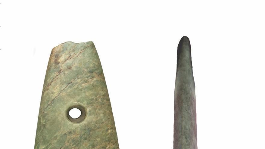 De Italia a Galicia pasando por Bretaña, el viaje de un hacha de 6.000 años