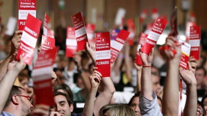 Foto de archivo del 39ª Congreso del PSOE/ EFE