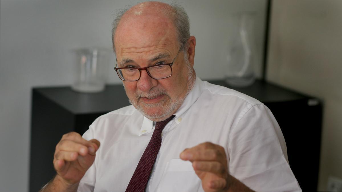 El vicepresidente de la Agencia Valenciana de la Innovación, Andrés García Reche.