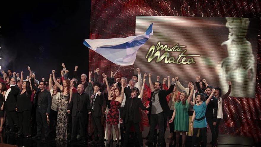 """""""O Apóstolo"""" triunfa en los premios Mestre Mateo con seis galardones"""