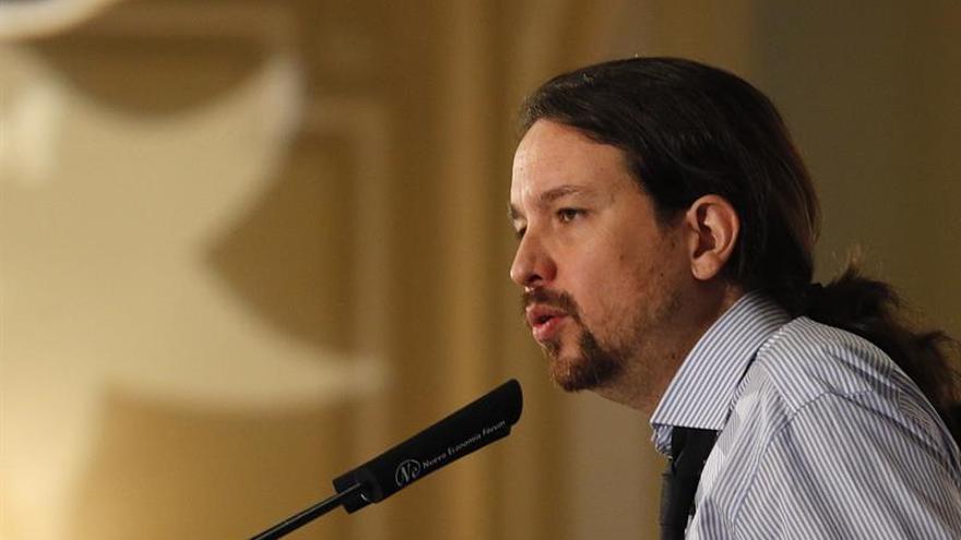 """Iglesias reivindica para Unidos Podemos """"el nuevo espacio socialdemócrata"""""""