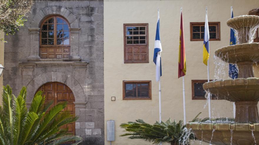 Fachada del Ayuntamiento de Güímar