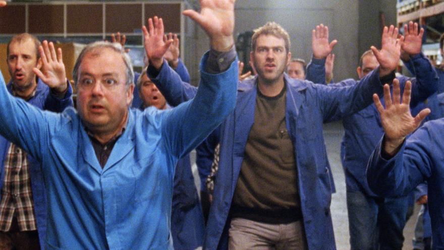 Fotograma de la película 'La fábrica de nada'