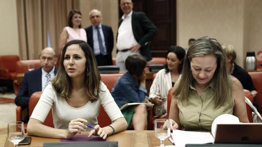 """Belarra ve un """"error"""" la estrategia de """"chantaje y no negociación"""" del PSOE"""