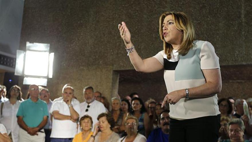 Díaz: Me siento orgullosa de Carrillo y Suárez, otros parecen no conocerlos