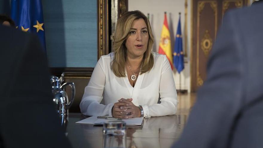 "Susana Díaz da por ""seguro"" la convocatoria del Comité Federal del PSOE"