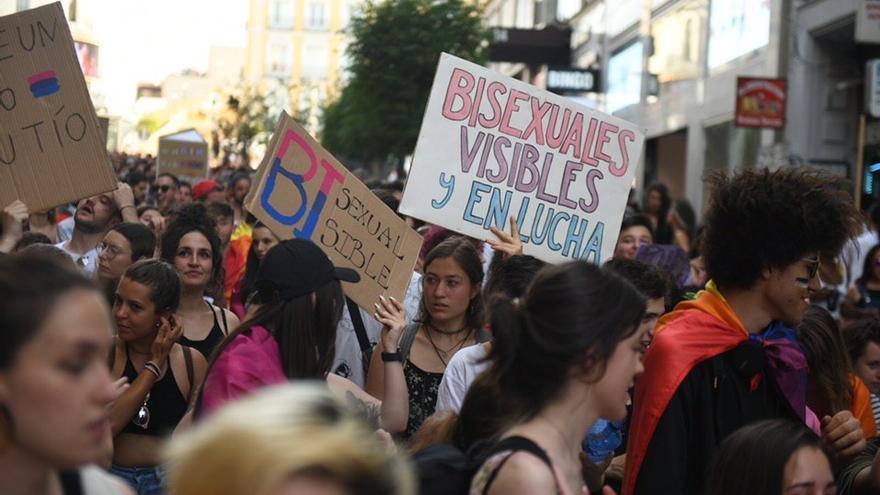 Manifestación del Orgullo Crítico 2019 en Madrid.
