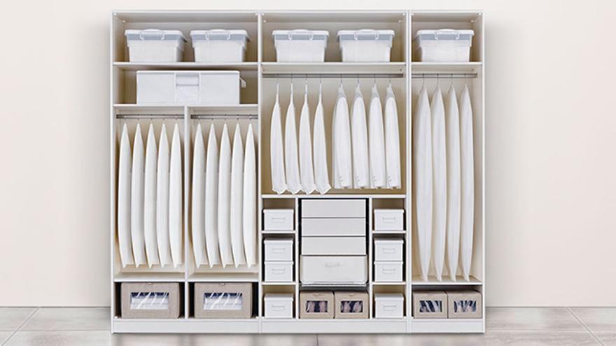 Cinco ideas para organizar tu cambio de armario.