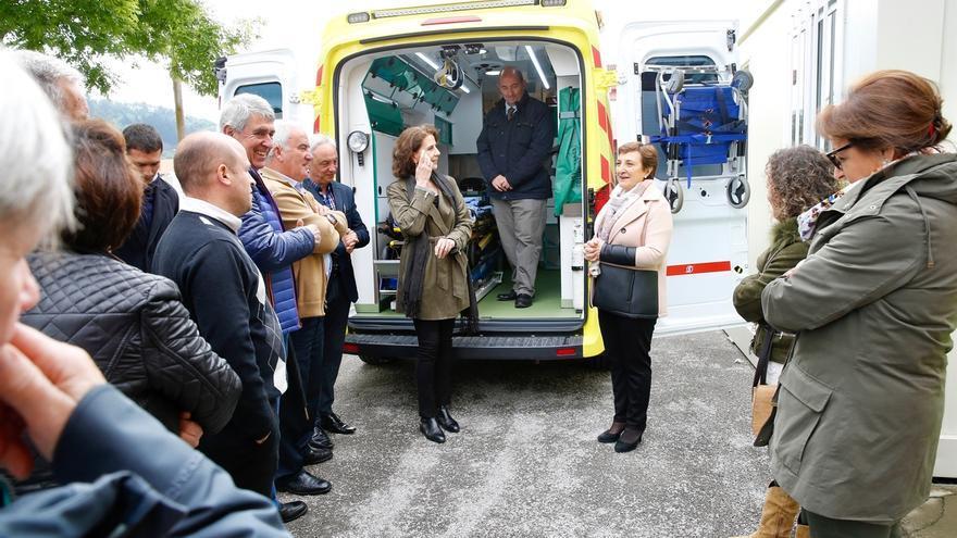Una nueva ambulancia dará servicio a los valles de Iguña y Anievas