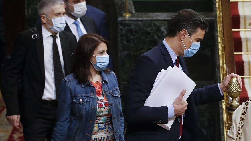 """Diputados del Grupo Socialista, en """"shock"""" por el acuerdo con Bildu para derogar la reforma laboral"""