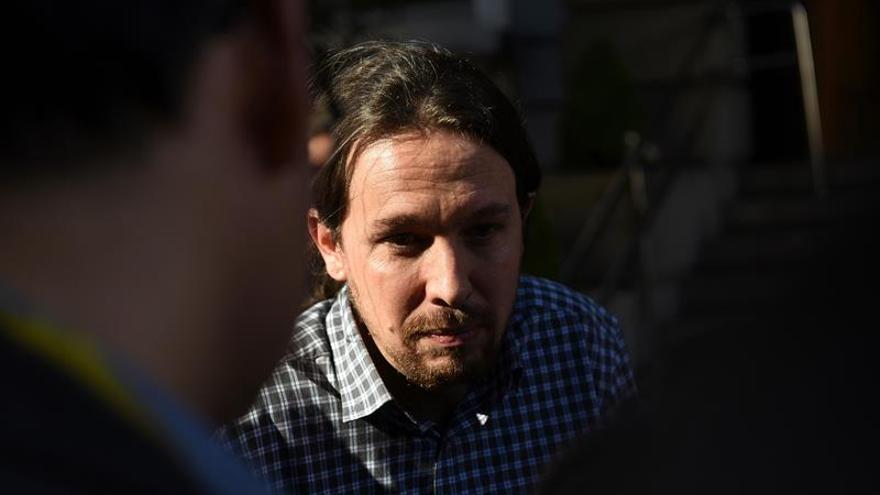 Iglesias critica al PP y al PSOE por intentar atacar a Podemos con Venezuela