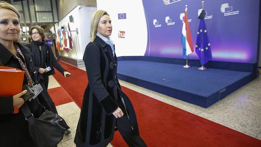 """Mogherini dice que los atentados son un """"ataque a la civilización"""" y pide """"unidad"""""""