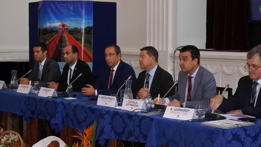 García-Page, como presidente de la AREV