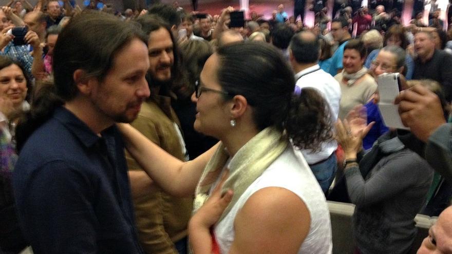 """Iglesias llama """"cobarde"""" a Rajoy por no debatir y le avisa que su partido """"lo organizó un ministro"""" franquista"""