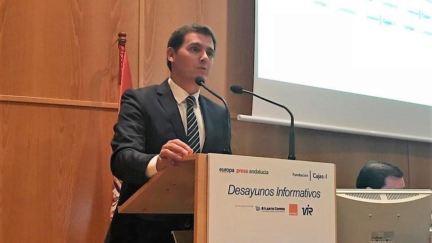 Archivo - Albert Rivera, en los Desayunos de Europa Press Andalucía