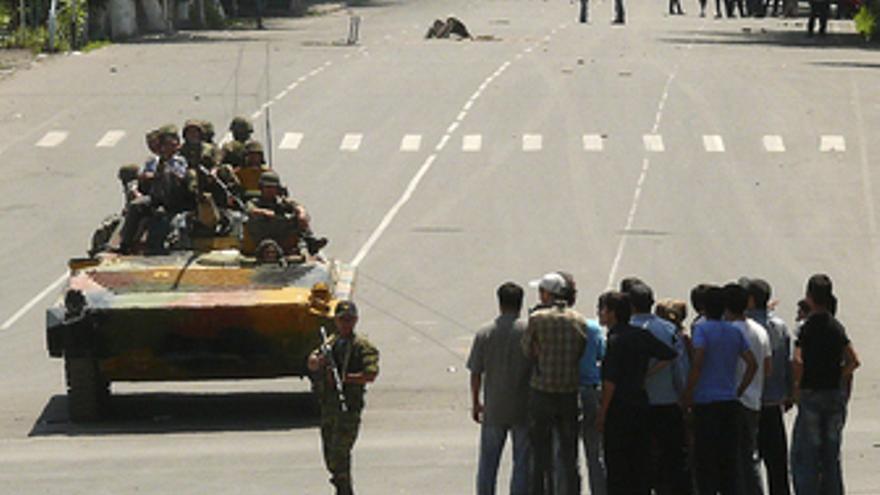 Disturbios en Kirguistán