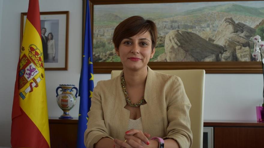 Isabel Rodríguez, alcaldesa de Puertollano