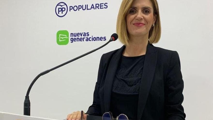 Carolina Castelló, portavoz del PP en la Vall d'Uixó
