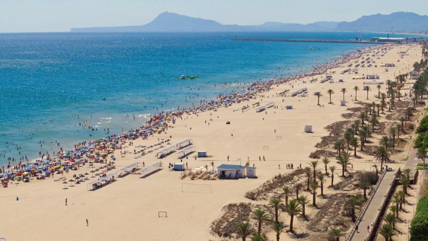 Gandia es uno de los principales polos del turismo de playa