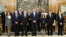 Sáenz de Santamaría se mantiene como única vicepresidenta aunque pierde la portavocía