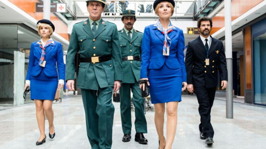 Una escena de la serie de ficción española 'El Ministerio del Tiempo'