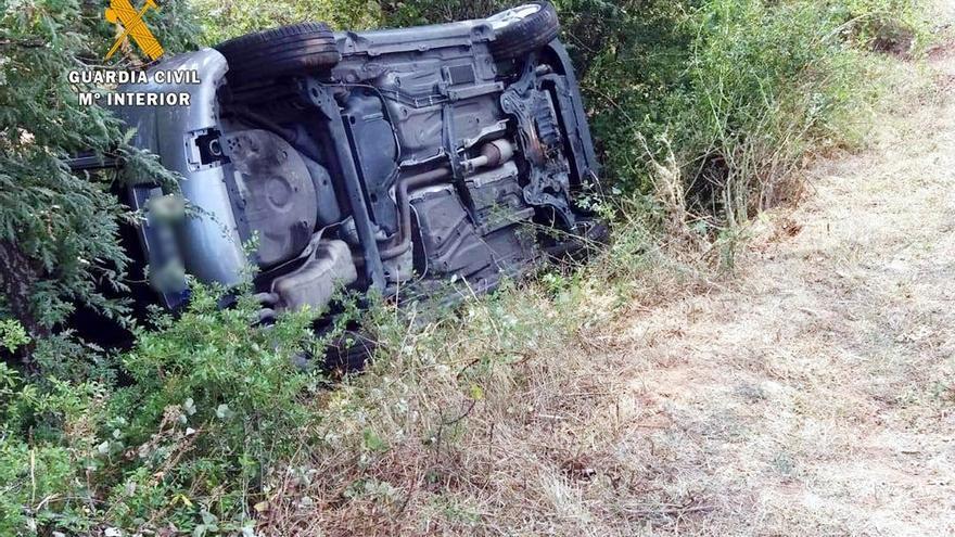 Investigado un joven que denunció el robo de un vehículo tras sufrir un accidente con él