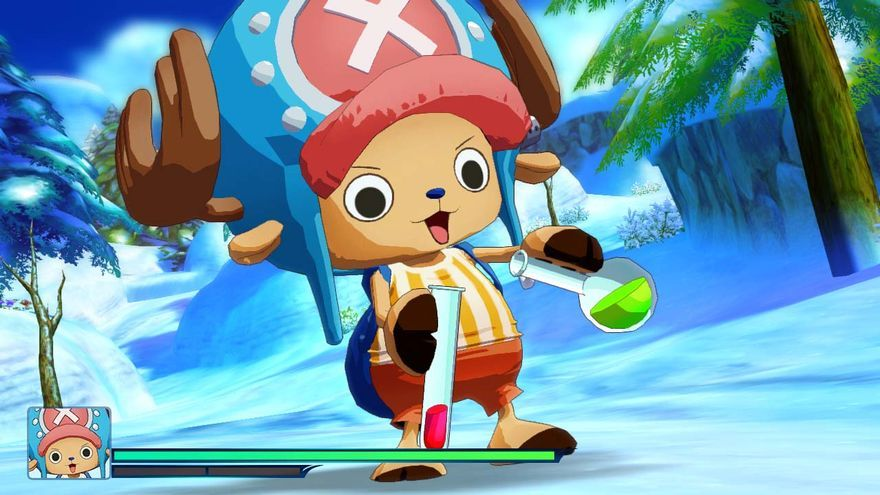 One Piece Unlimited World Red Chopper