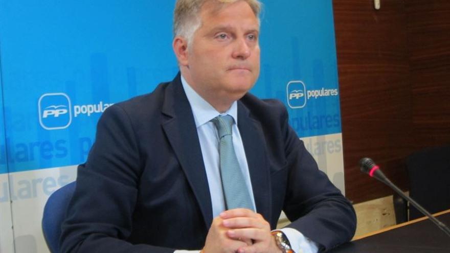 Francisco Cañizares, portavoz del Grupo parlamentario 'popular' en Castilla-La Mancha